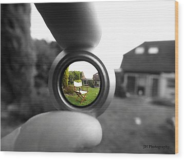 Life Through The Lens Wood Print by Jay Harrison