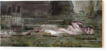 L'inconnue De La Seine Wood Print