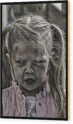 Living Dead Girl  Wood Print