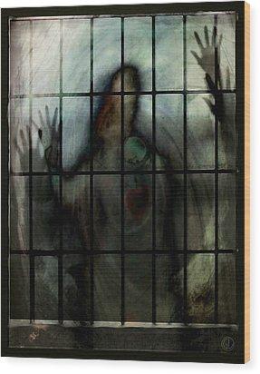 Locked In Wood Print by Gun Legler