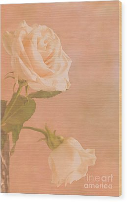 Love Whispers Softly Wood Print