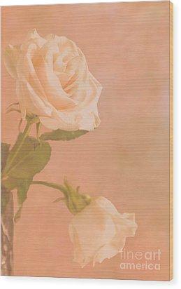 Love Whispers Softly Wood Print by Sandi Mikuse
