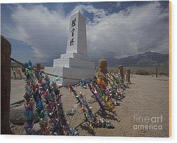Manzanar War Relocation Center Wood Print by Jim West