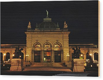 Memorial Hall - Philadelphia Wood Print by Bill Cannon