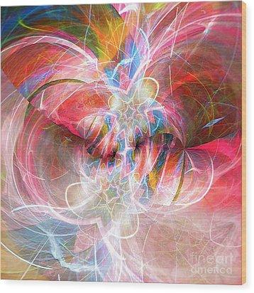 Metamorphosis  Wood Print by Margie Chapman