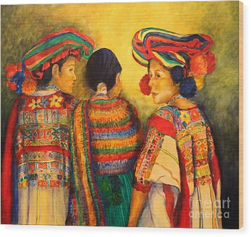 Mexican Impression Wood Print by Dagmar Helbig