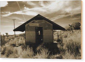 Mojave Desert Wood Print
