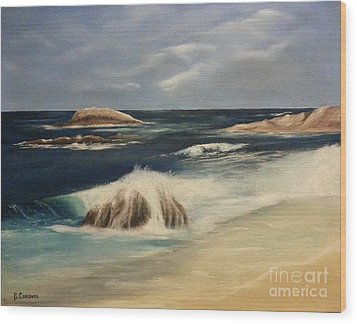Monterey Coast Wood Print