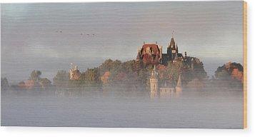 Morning Has Broken Wood Print by Lori Deiter
