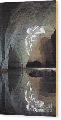 Morning Light Wood Print by Li Newton