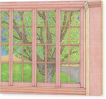 Mother Weller's Tree Wood Print
