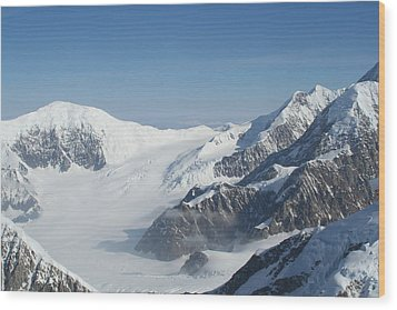 Mt Mckinley Wood Print by Dick Willis
