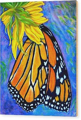 Natures Design   Pastel Wood Print