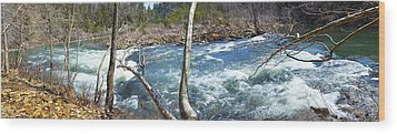 Wood Print featuring the photograph Nemo Rapids by Paul Mashburn