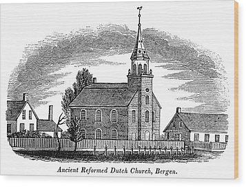 New Jersey Church, 1844 Wood Print by Granger