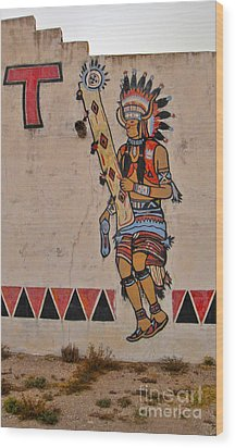 New Mexico Wood Print by Gregory Dyer