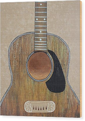 No Strings Attached Wood Print by Steve  Hester