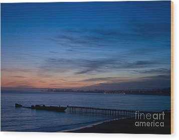 North Monterey Bay Wood Print