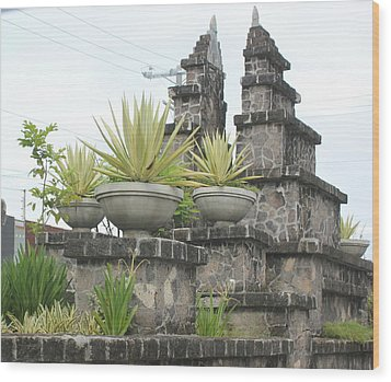 Wood Print featuring the photograph Nusa Dua by Cyril Maza