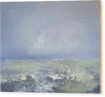 Oceanscape Wood Print