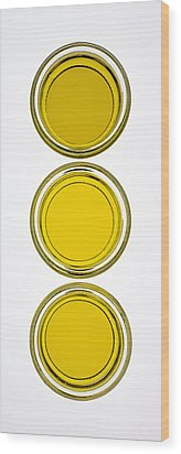 Olive Oil Wood Print by Frank Tschakert