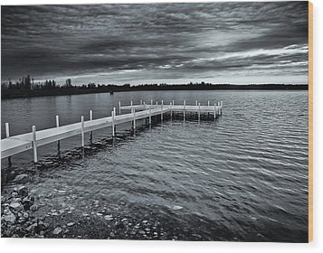 Wood Print featuring the photograph Overcast by Greg Jackson