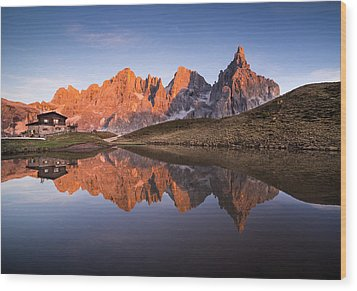 Pale Di San Martino Wood Print