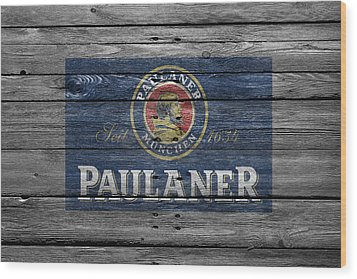 Paulaner Wood Print by Joe Hamilton