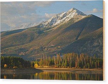 Peak One Wood Print by Bob Berwyn