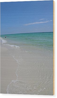 Pensacola Beach Wood Print