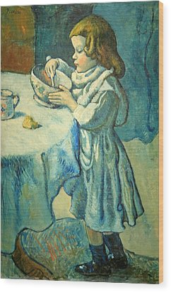 Picasso's Le Gourmet Wood Print