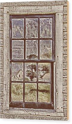Pierce Point Ranch Wood Print by Robert Rus