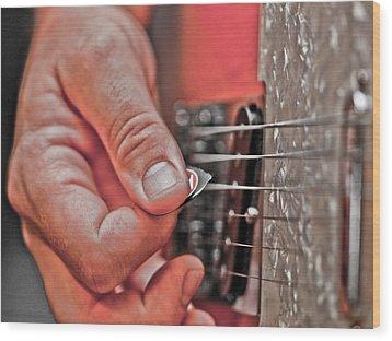 Grunge Wood Print by Annette Hugen
