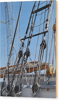 Wood Print featuring the photograph Pirate Ship  by Ramona Whiteaker