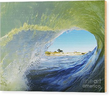 Point Of View Wood Print by Paul Topp
