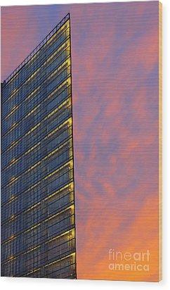 Potsdamerplatz Berlin Wood Print by Colin Woods