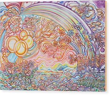 Primavera Wood Print by Susan Schiffer