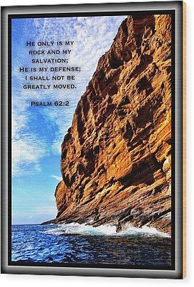 Psalm 62 2 Wood Print