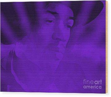 Purple Haze Wood Print by Janice Westerberg