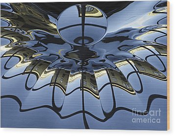 Reflections Wood Print by Inge Riis McDonald
