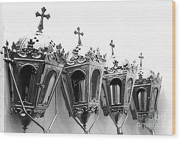 Religious Artifacts Wood Print by Gaspar Avila