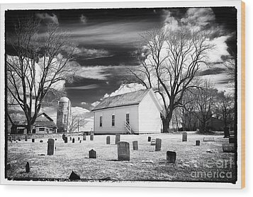 Resting Place Wood Print by John Rizzuto