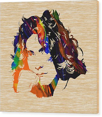 Robert Plant Collection Wood Print