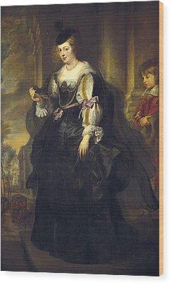 Rubens, Peter Paul 1577-1640. Helena Wood Print by Everett