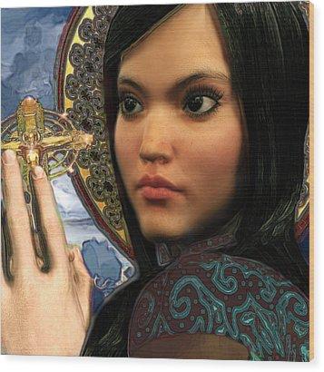 Saint Magdalene Of Nagasaki Wood Print