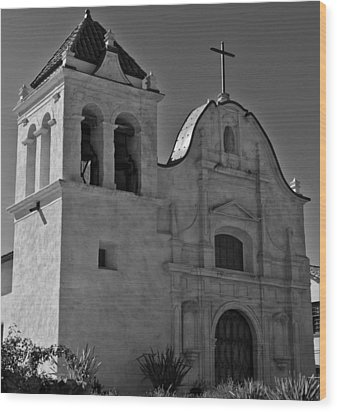San Carlos Cathedral Wood Print by Ron White