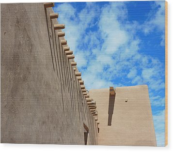 San Francisco De Asis Mission Church  Wood Print by Gia Marie Houck