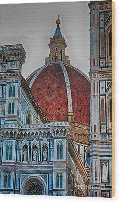 Santa Maria Del Fiore Wood Print