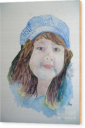 Sarah Wood Print by Sandy McIntire