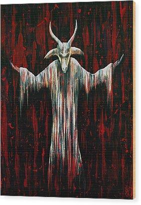 Savior Wood Print by Steve Hartwell